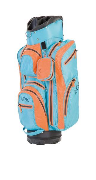 JuCad Bag Aquastop, Orange / Ljusblå