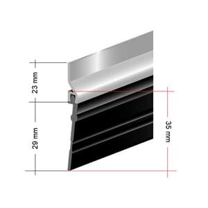 Alu slepelist 35 mm x 200 cm