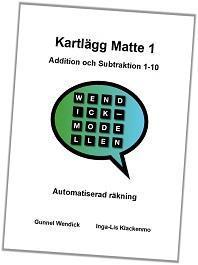Kartlägg Matte 1, Add/Sub 1-10