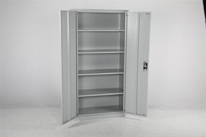 Förvaringsskåp Annelie 1800x900x400 grå/grå