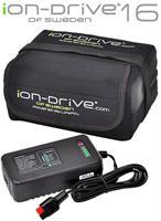 iON-Drive 16 Ah Litiumbatteri för PK FWII & Sport