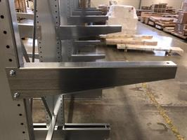 Lastarm 1000 mm 150 kg galvad
