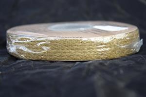 Band pappersgarn 16mm olivgrön ca15m/r
