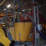 Sörbnäs Kumla MVM 6,5 m3. Navet i foderköket i den automatiska foderanläggningen. Med WIC styrning , utfodrar den 800 kor, Levererat av GEA Mullerup och byggt av EMJ Inomgårds,  2007-2010