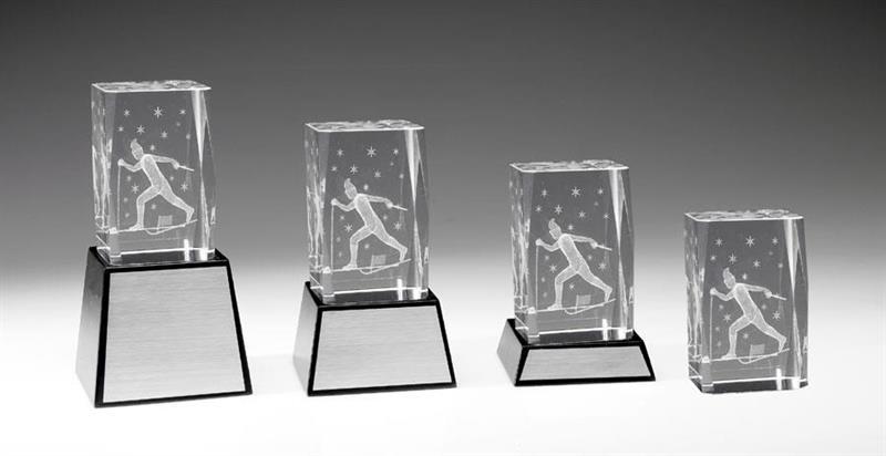 3D Glas Längdskidåkning