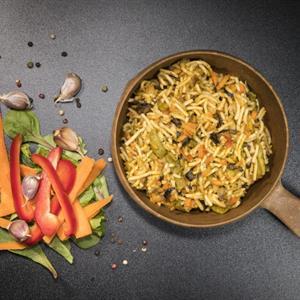 Veggie wok and noodles