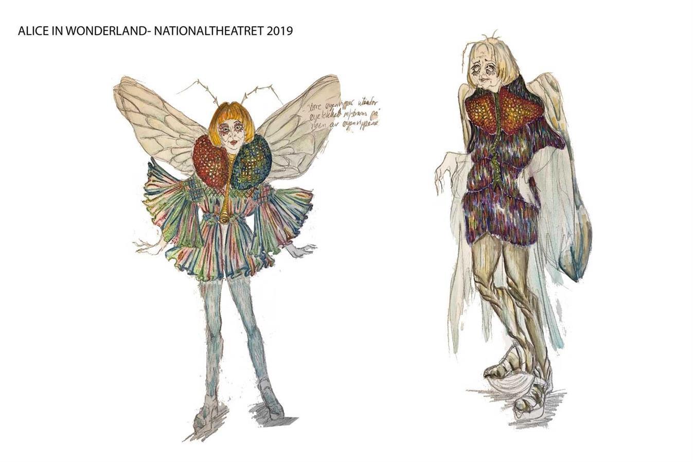 Alice in wonderland - Nationaltheatret- Director: Mads Bones - 2019 - Costume Design: Christina Lovery