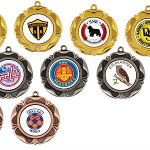 Medalj Klöver
