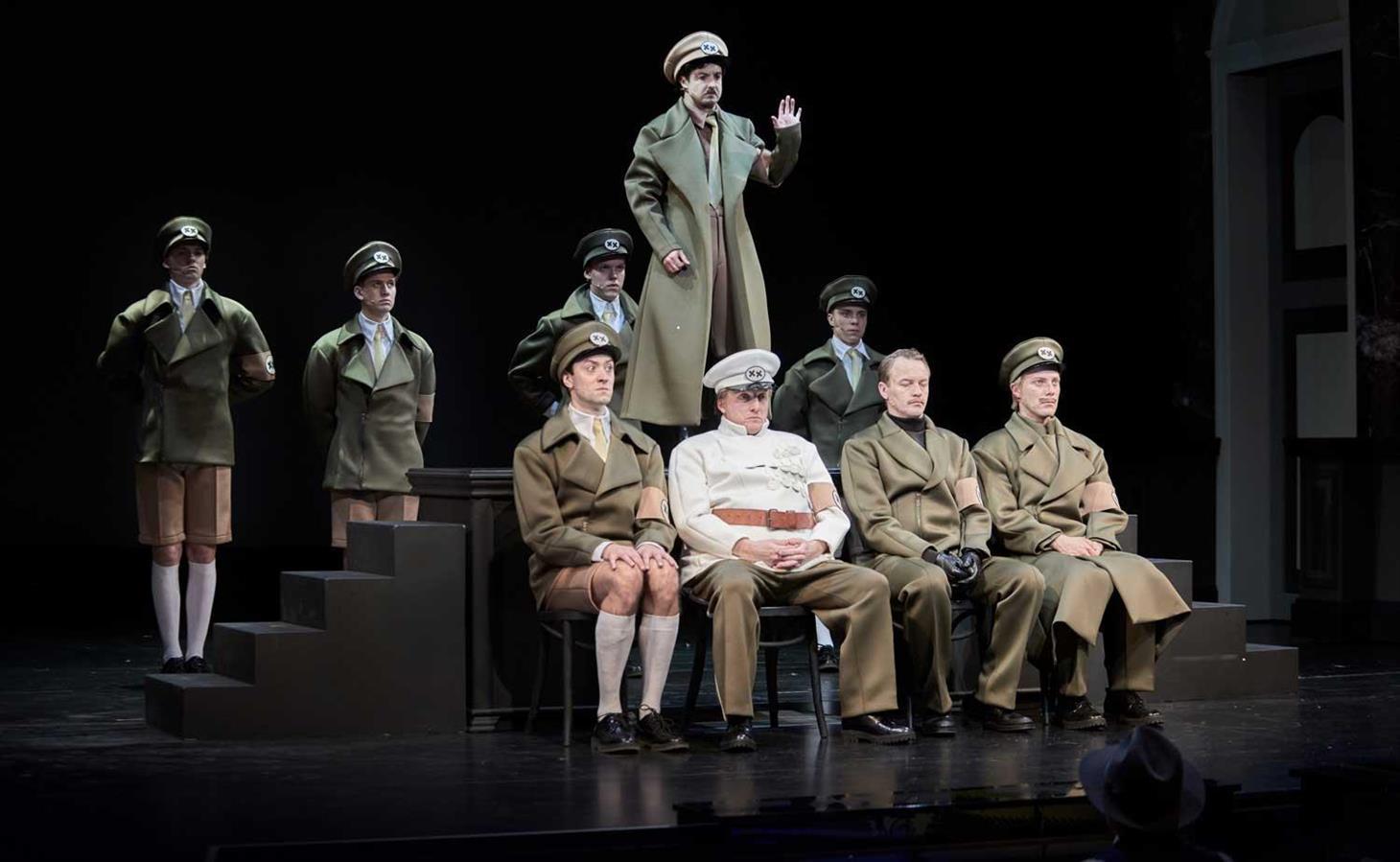 The Dictator - Rogaland Teater - Director: Morten Joakim - Costume Design: Christina Lovery - Foto: Stig Håvard Dirdal 2017