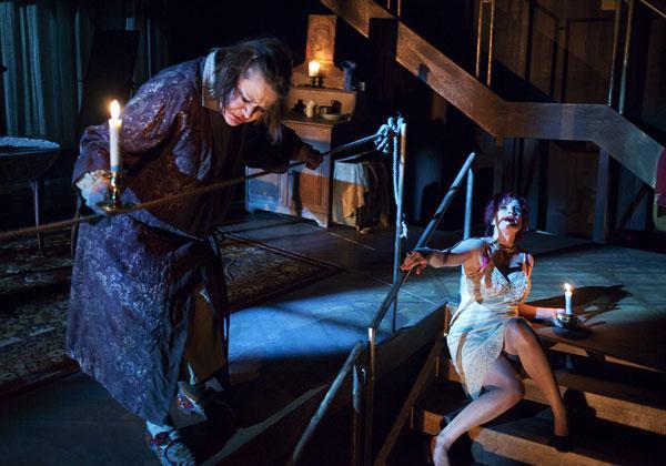 The Suicider - Play - Norwegian Theatre - Director: Lasse Kolsrud -  Costume design: Christina Lovery
