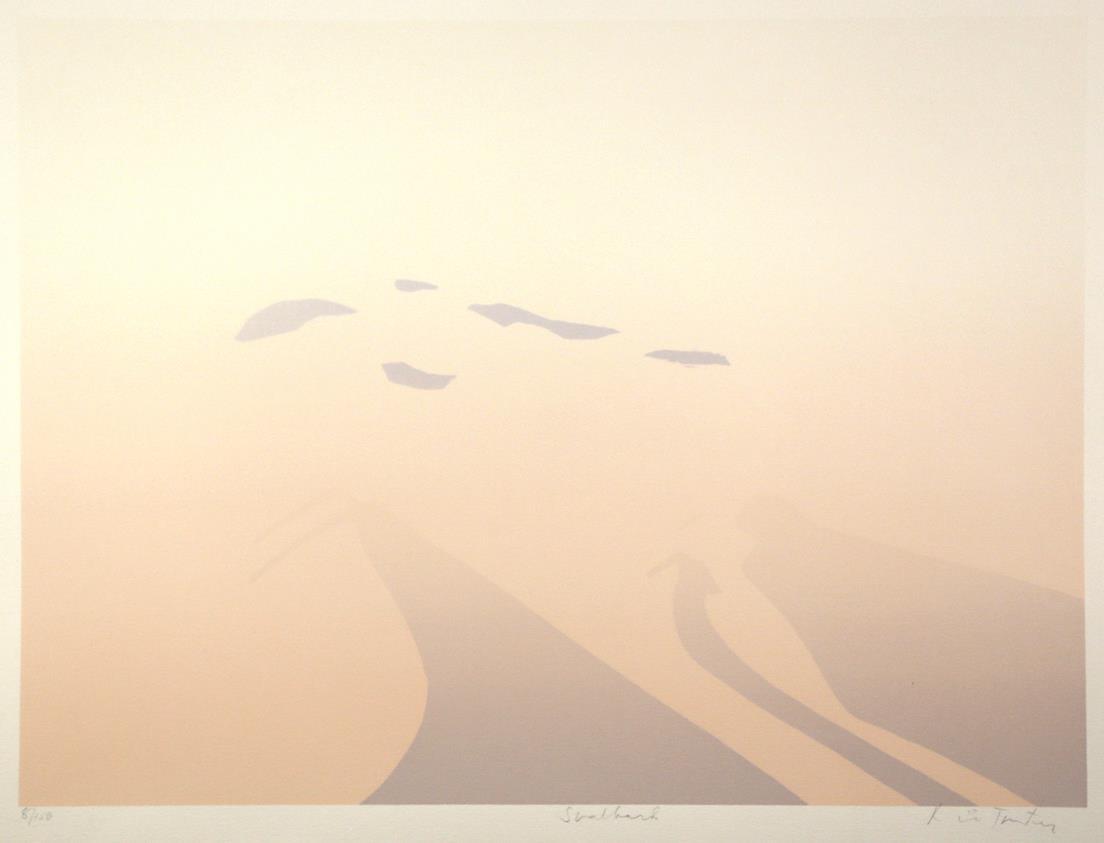 """""""Svalbard"""", silketrykk, 50 x 65 cm."""