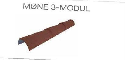 Mønepanne 3-modul buet 1228 mm