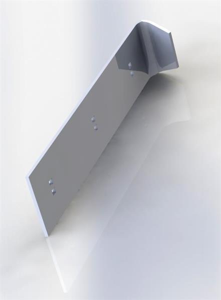 Plogskär 965 x200x12 bock
