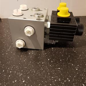 Ventilblock Vikplog. Diagonalfunktion