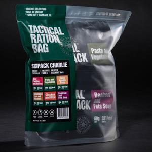 Tactical Foodpack Six Pack Charlie