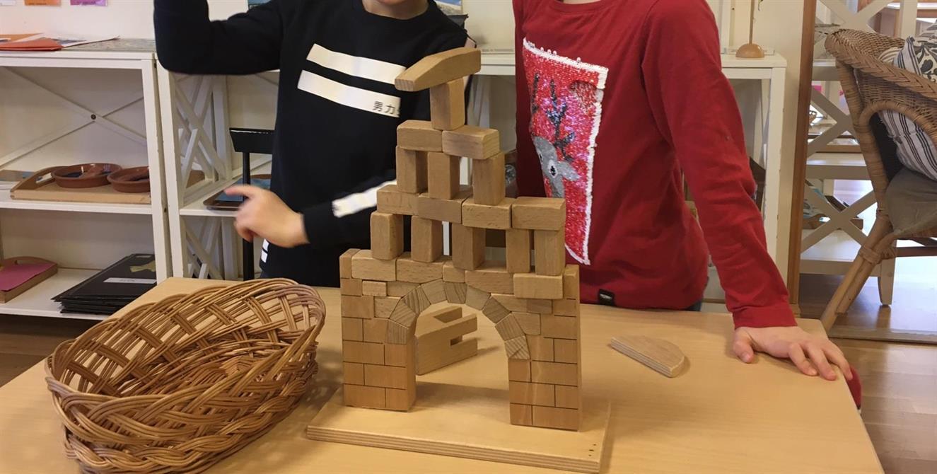 Montessorimaterialet Romerska bågen