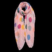 scarf  rosa m prickar