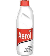 Paineilmajarrujen jäänestoaine Aerol 1lit