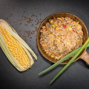 Buckwheat pot and turkey