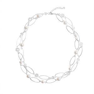 Halssmykke sølvbelagt