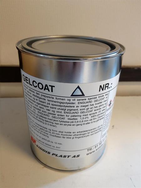Gelcoat 80369 (RAL 7043) Uttern grå