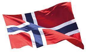 Flagg norsk, 250 cm, øko