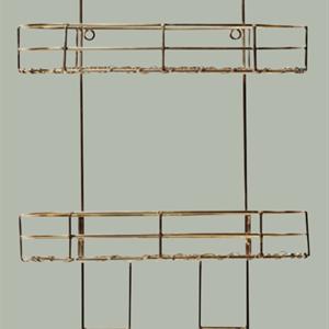 Gullfarget hengehylle, 29x14x64cm