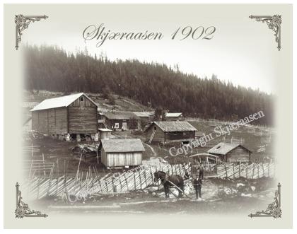 Postkort Skjæraasen 1902