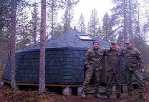 Faravid wood tent 20
