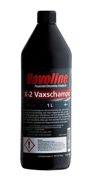 Havoline X-2 Vaxschampo 1 L