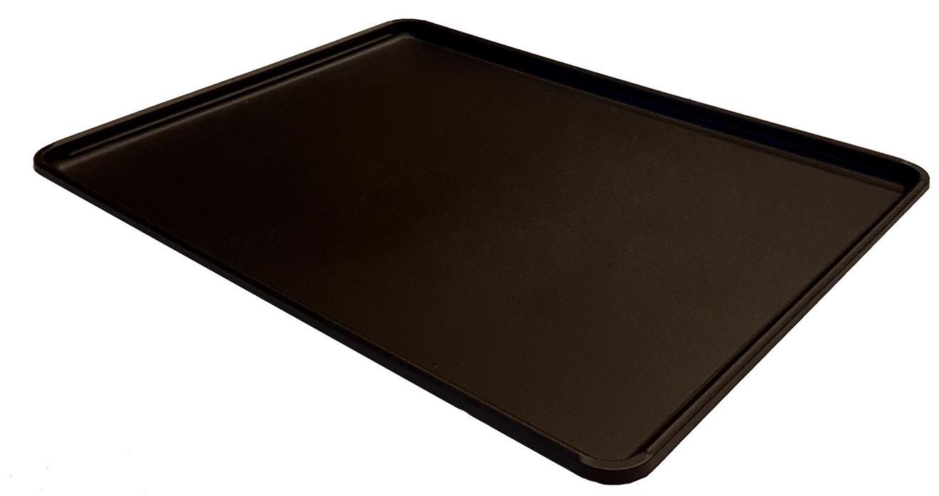 Underlägg 80x60cm  - svart