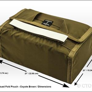 CTOMS 2ndLine™ Quad Fold Pouch
