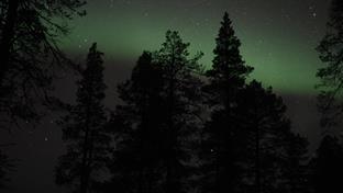 Norrsken under nattmarsch