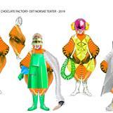 Charlie and the chocolate factory - Det Norske Teatret - Director: Vidar Magnussen - Costume Design: Christina Lovery