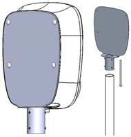 Charge Amps Aura Stolpfäste 60mm