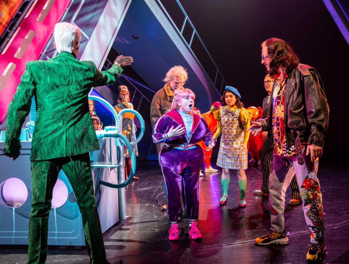Charlie and the chocolate factory - Det Norske Teatret - Director: Vidar Magnussen - Costume Design: Christina Lovery - Foto: Erik Berg 2019