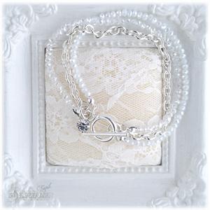 Embrace armbånd hvit