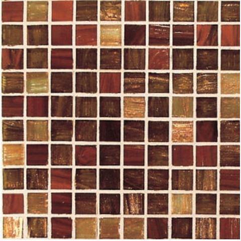 Rosso / Ramato Mix  2,00 x 2,00 Gold / Bronze