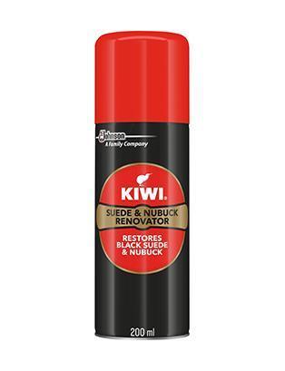Kiwi Suede & Nubuck Renovator Black