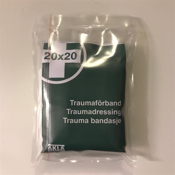 AKLA Traumaförband 20 x 20