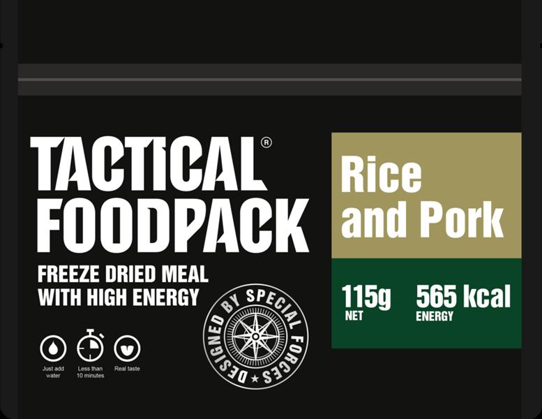 Rice and pork