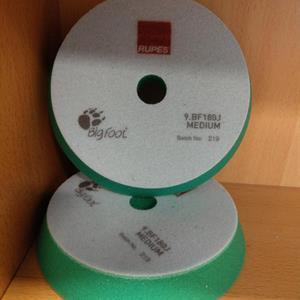 Polerpute Rupes Grønn (Medium) Kombi polering/rubb