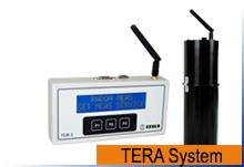 TERA system for logging av radonkonsentrasjon