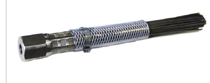 Borstknippe M12 TopLock Flat Steel