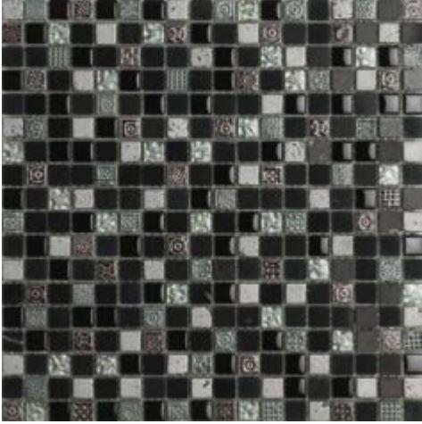 Antica Roma Black  1,50 x 1,50