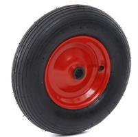 Reservhjul skottkärra 160 l, 2-hjul