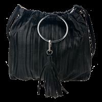 Väska svart tofs