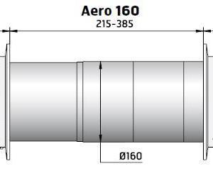 Veggventil AERO 160