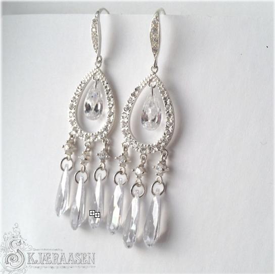 Classy chandelier earrings