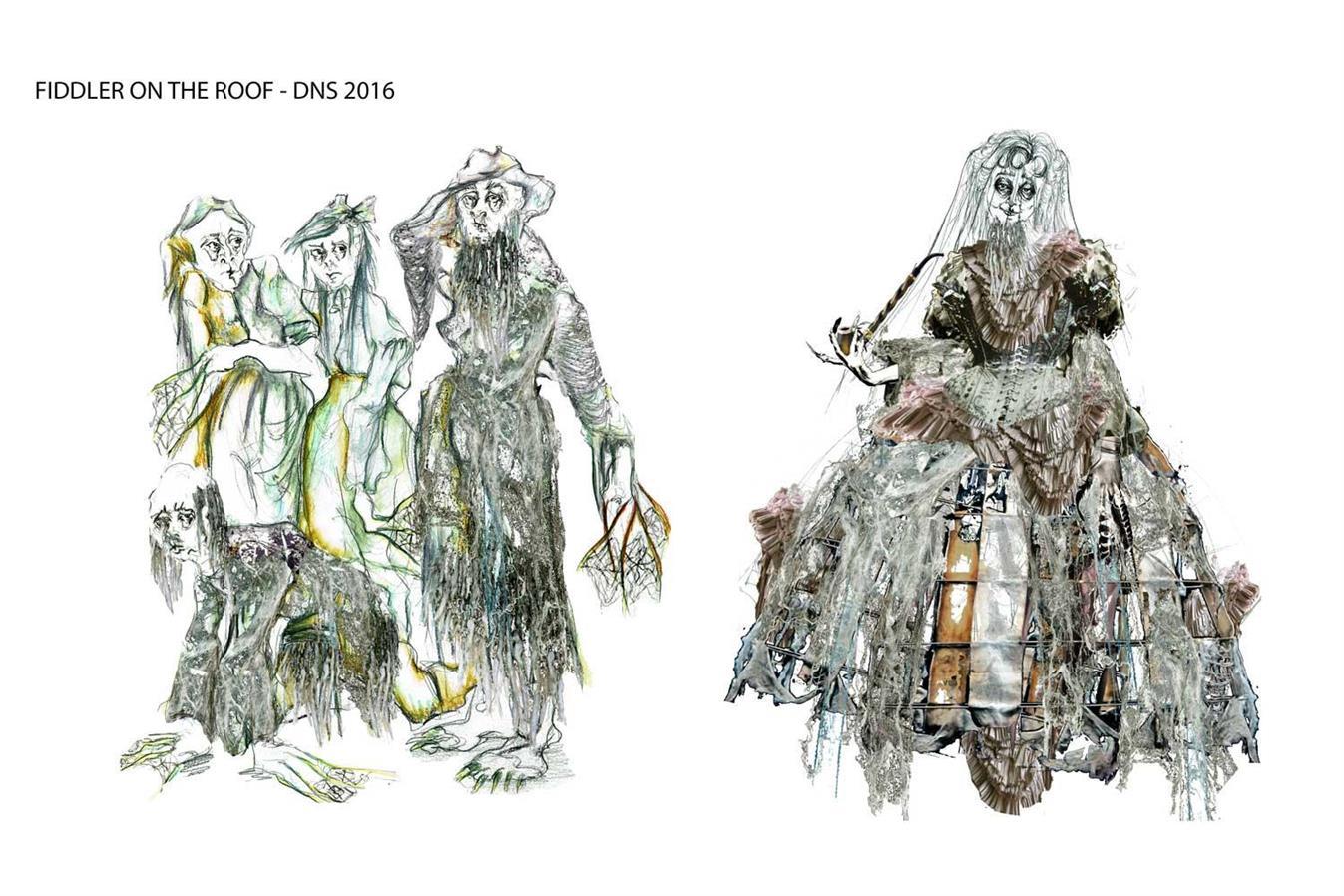 Fiddler on the Roof- Den Nasjonale Scene - Director: Svein Sturla Hugnes - Costume Design: Christina Lovery
